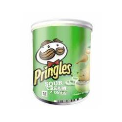 Pringles Sour Cream & Onion, 12 Pack à 40g Esswaren