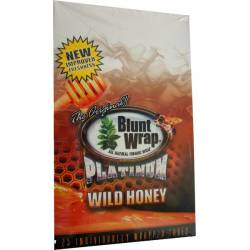 Blunt Wrap Platinum Wild Honey x 25