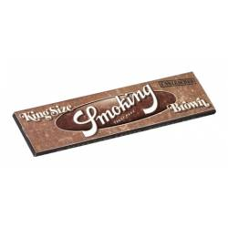Smoking Brown King Size Slim x 50