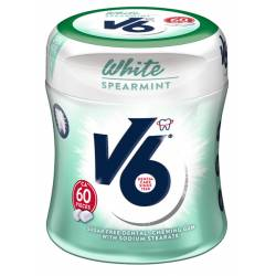 V6 White Spearmint 87g Bottle x 6