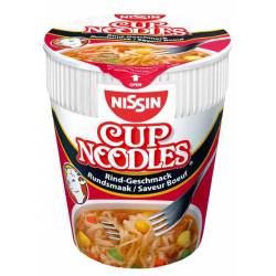 Nissin Noodles Rindfleisch 64g Cup x 8
