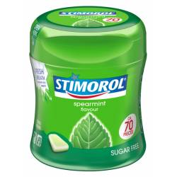 Stimorol Spearmint 87g Bottle x 6