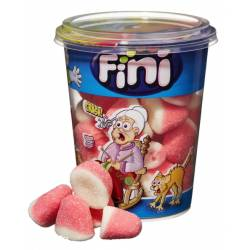 Fini Cup Kisses Strawberry 200g x 6 Becher