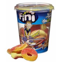 Fini Cup Peach Rings 200g x 6