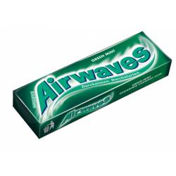 Airwaves Green Mint 14g x 30 Packungen Kaugummi