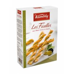 Kambly Les Ficelles  Oliven  100g x 12