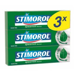 Stimorol Trio Spearmint 3x14g x 12