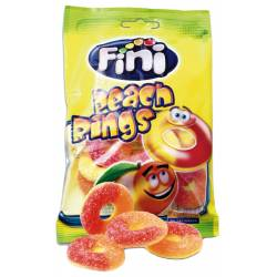 Fini Peach Rings 100g Btl. x 12