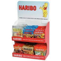 Haribo  Thekensteller ass.  100g x 60
