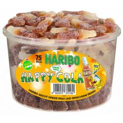 Haribo Happy Cola Lemon 18g x 75