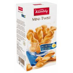 Kambly Mini Twist Salz Butter 16 Packungen