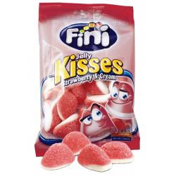 Fini Jelly Kisses Strawb. 100g Btl. x 12