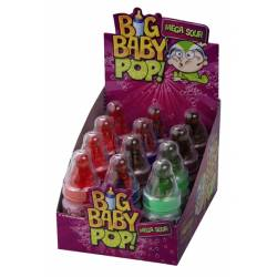 Topps Big Baby Pop sour 32g x 12
