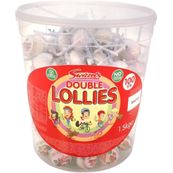 Swizzels Double Lollies 11g x 100