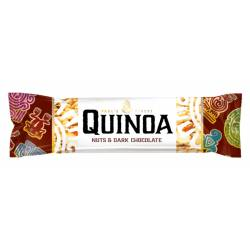 Paul's Quinoa Nuts & Dark Choclate 25g x 12