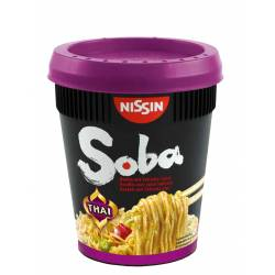 Nissin Soba Thai 87g Cup x 8