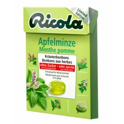 Ricola Box Apfelminze 50g x 20