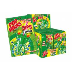 Pop Rocks Apple sour Dips 18g x 30