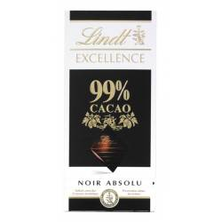 Lindt Excellence Noir 99% Cacao 50g x 18