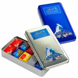 Lindt Swiss Coll. ass. 185g Box x 8
