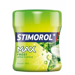 Stimorol MAX Frost Apple 80g Bottle x 6