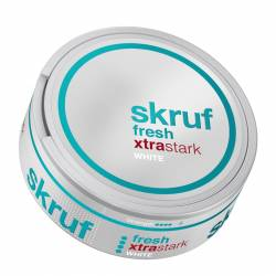 Skruf Menthol Extra Strong White 20g Do x 10