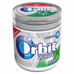 Orbit White Spearmint 84g Bottle x 6