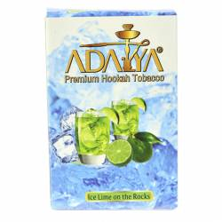 Adalya Was.pf.tabak Ice Lime on the Rock 50g Stg. x 10