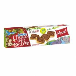Wernli Choco PB Jungle 125g x 16