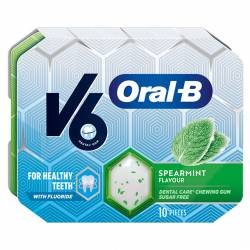 V6 Oral B Spearmint 17g x 12