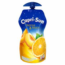 Capri-Sun Orange & Peach 330ml x 15