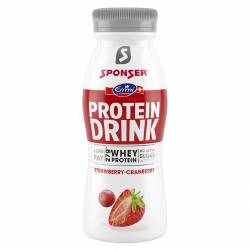 Sponser Protein Smoothie Strawberry 330ml x 6