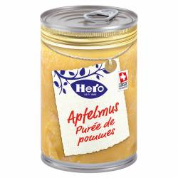 Hero Gourmets Apfelmus 430g Do x 12
